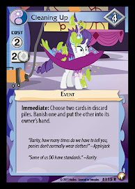 MLP Cleaning Up Equestrian Odysseys CCG Card