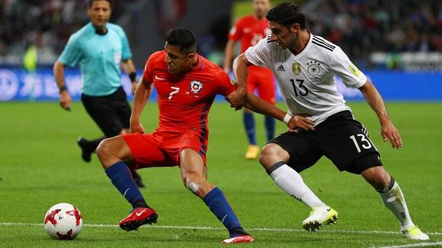 Chile vs Jerman