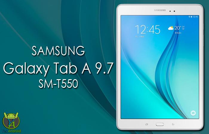 T550XXU1BPK1 | Galaxy Tab A 9.7 WiFi SM-T550