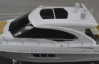 Nicely Done 18 Desktop Replica Of A Cruisers Yachts Cantius 45