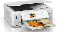 The Epson XP-615 is an Ice-white printer, but if you prefer black, you can go for the XP-610, which is functionally identical