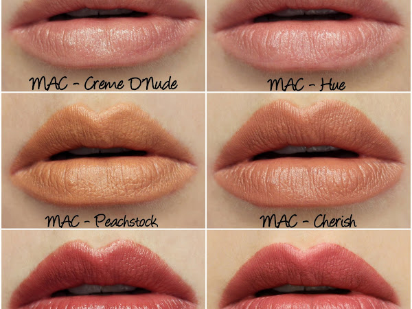 MAC Permanent Nude & Neutral Lipsticks Swatches & Review Part Three