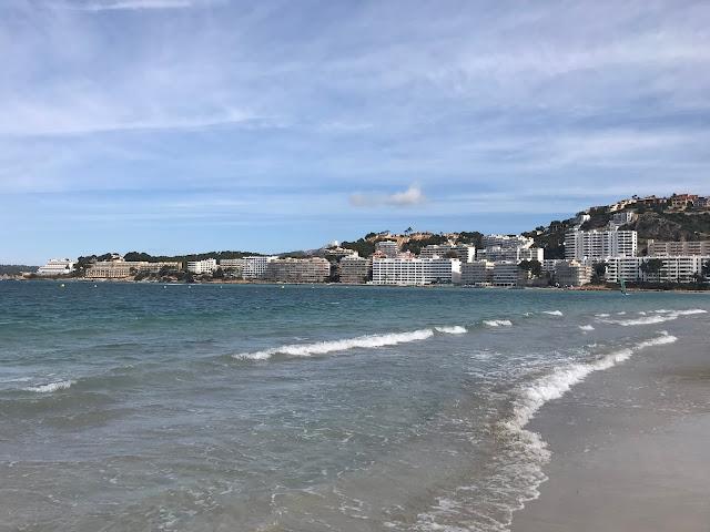santa ponsa beach Majorca 2018