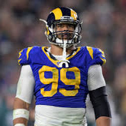 285355b56 VIDEO Aaron Donald @RamsNFL @VamosRams #RamsHouse #LARams #Fight4Vince dba  #SuperBowlLIII