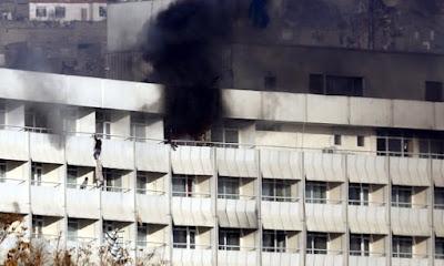 Breaking :Gunmen Attack Afghan Intercontinental Hotel,Five Killed So Far