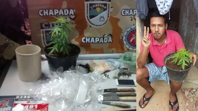 Acusado de tráfico morre em troca de tiros com a CIPE Chapada