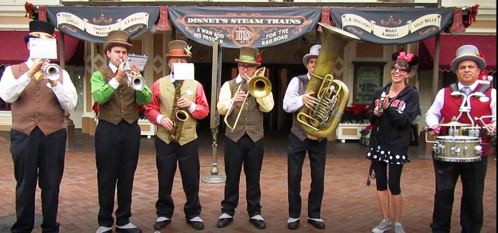 I'm with the Disneyland Band!