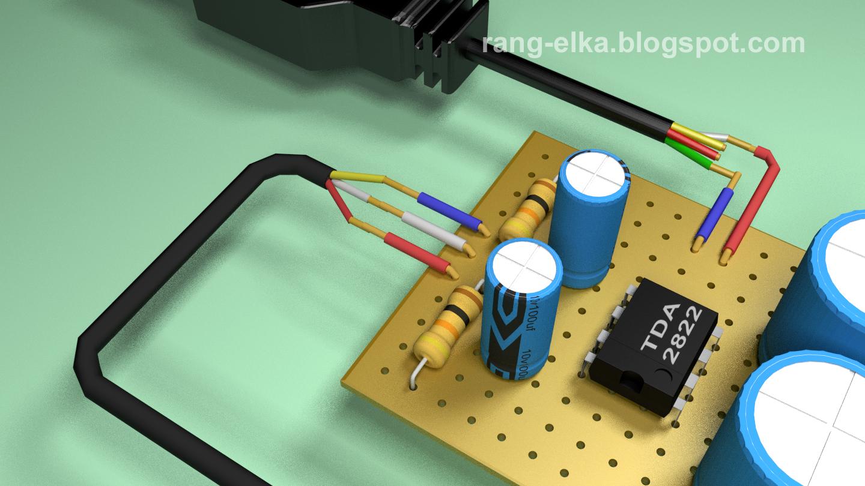 Merakit Rangkaian Elektronika Juni 2016