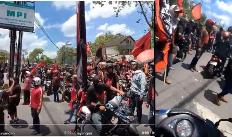 Kantor FPI Jogjakarta Diserang Massa PDIP