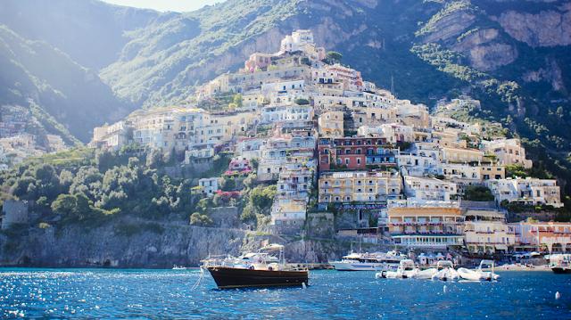 Sobre a Ilha de Capri na Itália