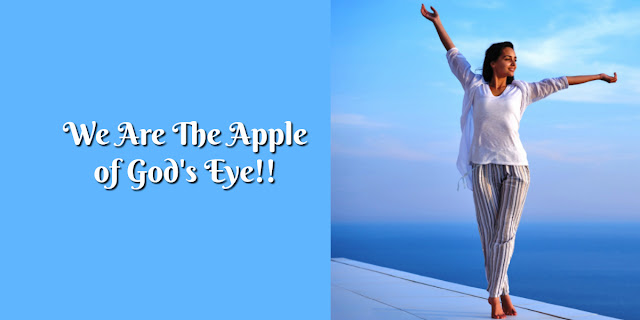 """What It Means To Be """"The Apple of God's Eye"""" - Deuteronomy 32:10"""