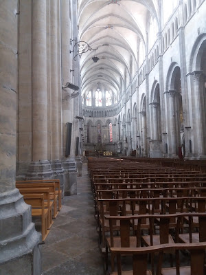 Interieur Saint Maurice in Vienne