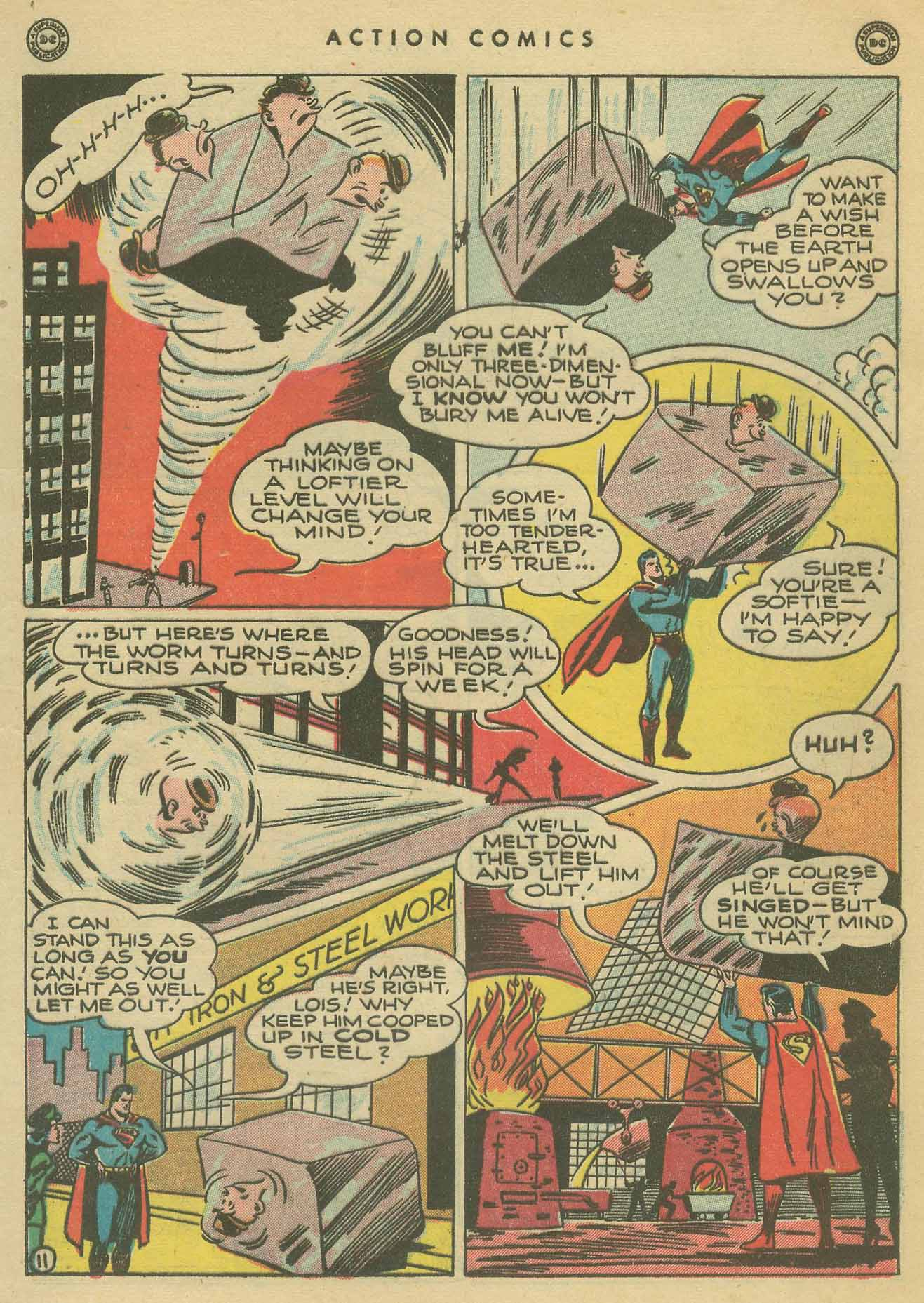 Read online Action Comics (1938) comic -  Issue #102 - 12