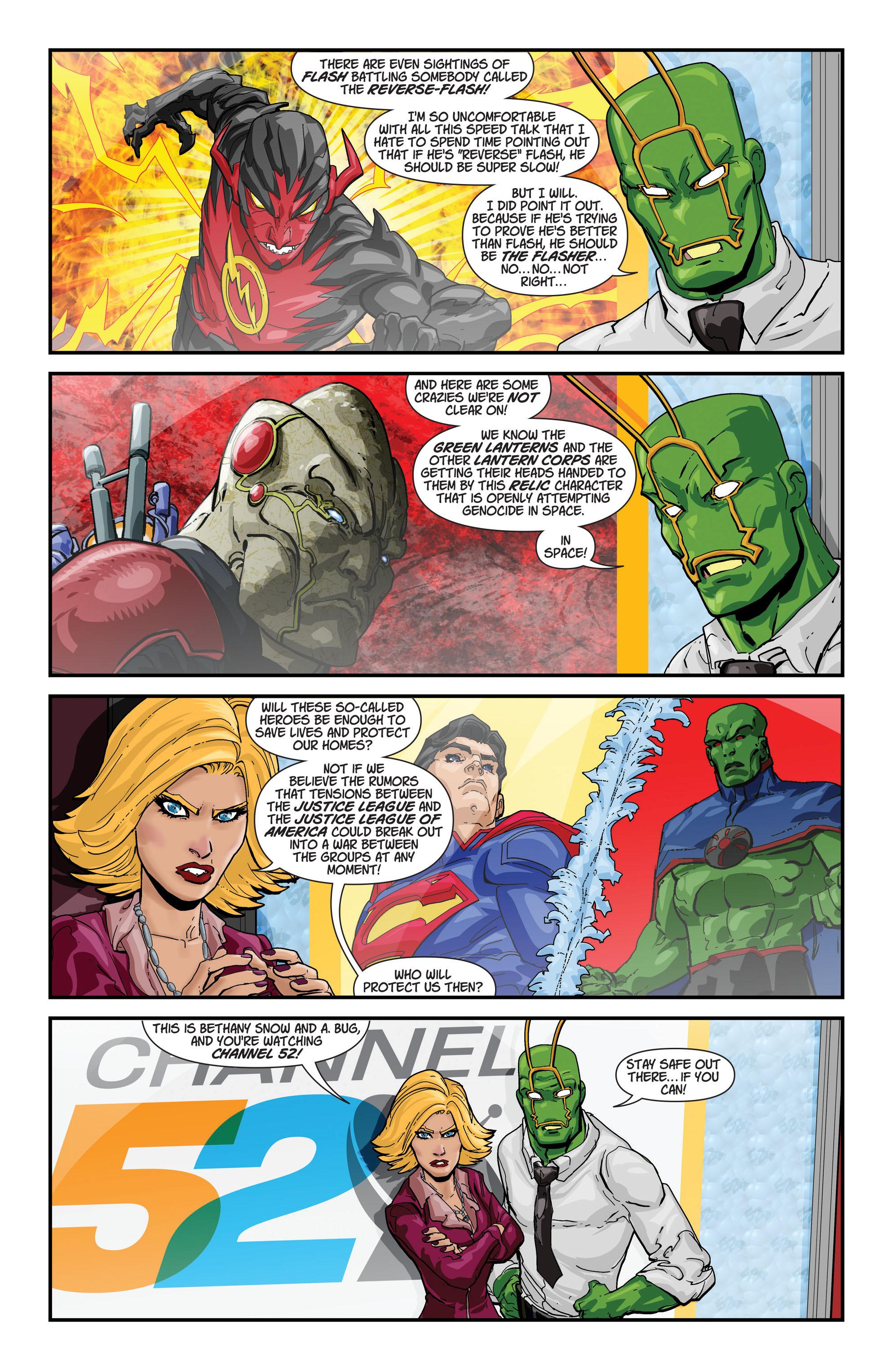 Read online Aquaman (2011) comic -  Issue #21 - 22