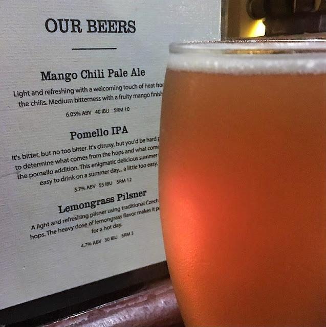 lemongrass pilsner artisan brewery hoi an vietnam