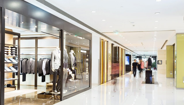 Khu trung tâm thương mại mua sắm đẳng cấp