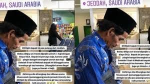 Bayar 50 Juta Tapi Ditelantarkan di Bandara, Kisah Jamaah Umroh Ini Jadi Viral