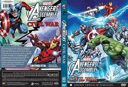 Avengers assemble Civil War - Vengadores unidos