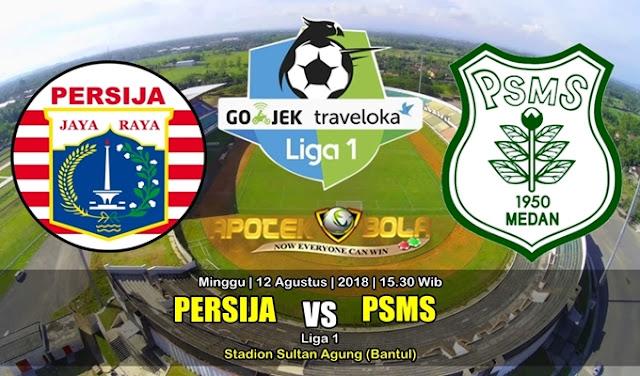 Prediksi Persija Jakarta vs PSMS 12 Agustus 2018