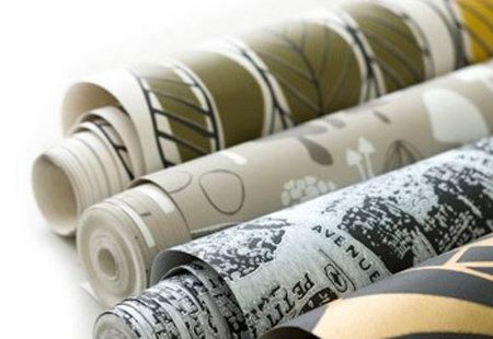 Combinar el empapelado con la pintura - Combinar papel pintado y pintura ...