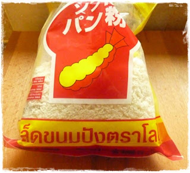bag of panko crumbs