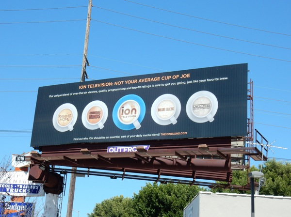 Ion TV Not average cup of joe billboard