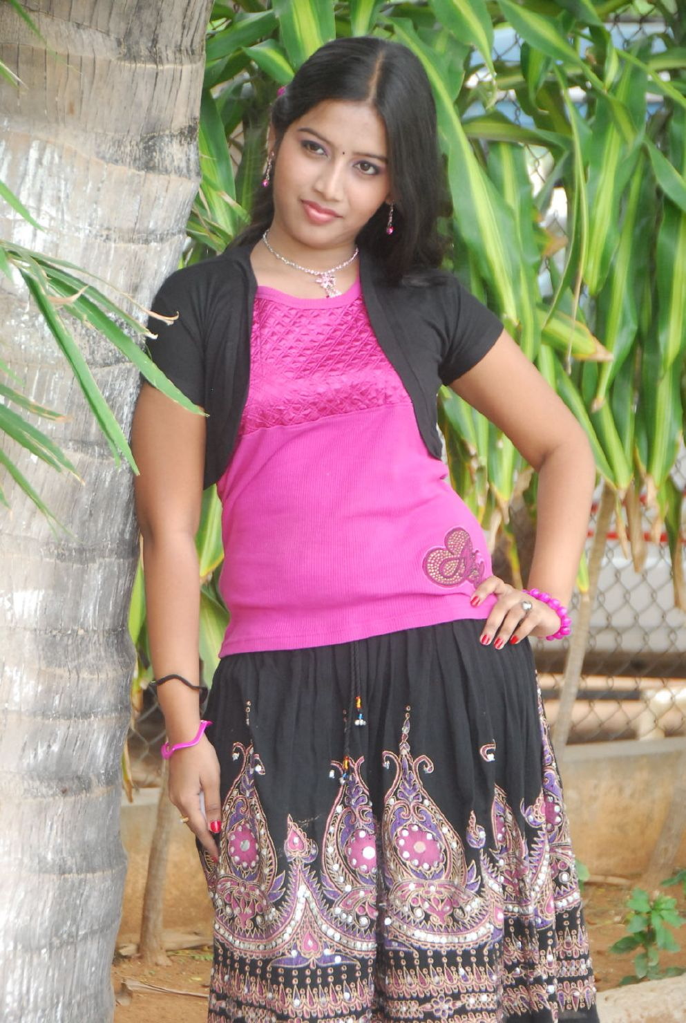 Indian Young Teen Model Fashion Glamour Model