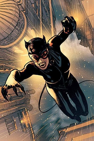 What is the real name of Catwoman