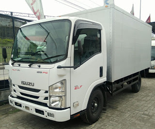 Isuzu NLR 71 TL box Aluminium