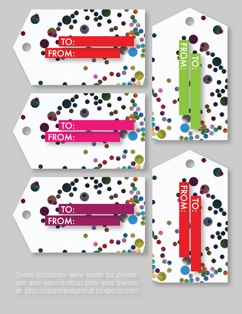 Happy Design Stuff Free Printable Gift Tags