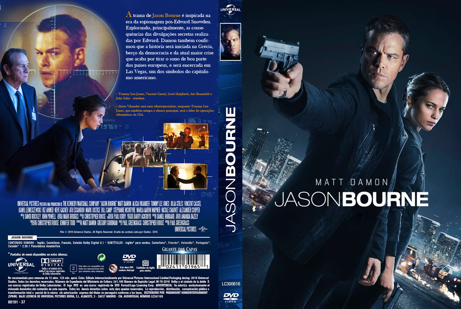 Download Jason Bourne BDRip Dua Áudio Download Jason Bourne BDRip Dua Áudio Jason 2BBourne 2B 25282016 2529 2B1