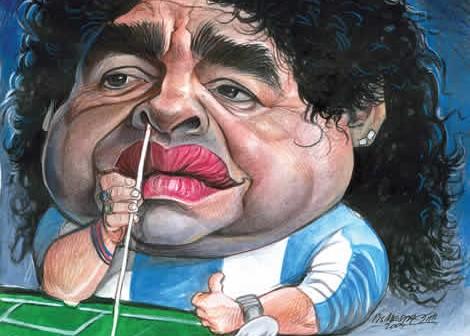 Triste fim: Maradona acaba como caseiro do sítio do Lula que não é do Lula