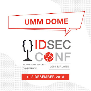 Call For Paper IDSECCONF2018