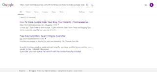 Guide on How To Make Google Index Your Blog Post Instantly