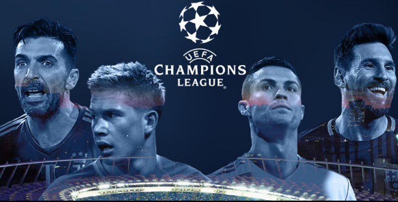 "alt=""UEFA has just been drawing for the last 16 of the Champions League 2017-18"""