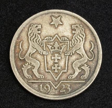 Coins Of The Free City Of Danzig Silver Gulden Coin Of