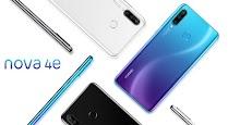 Huawei Nova 4e Resmi Dirilis dengan Tiga Kamera Belakang