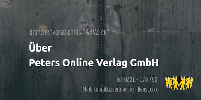 ABVZ.de: Peters Online Verlag GmbH Osnabrück
