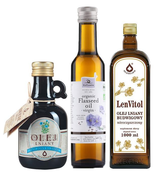 Olej lniany pomaga schudnąć