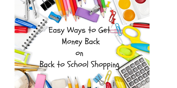 Cash back on back to school