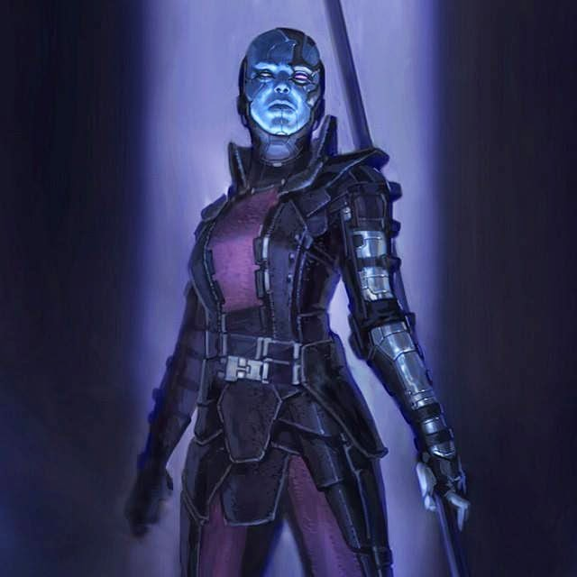 Nebula Gotg Fan Art Plus - Pics about space