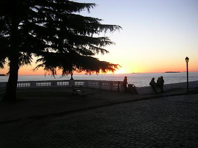 Colonia del Sacramento; Uruguai; turismo América Latina; Rio Prata; por do sol