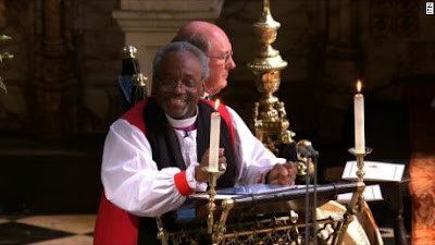 Michael Curry preaching