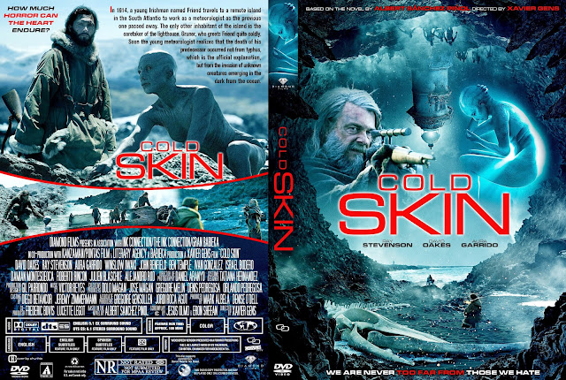 Cold Skin DVD Cover Cover Addict DVD Bluray Covers