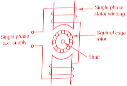 Motor squirrel working principle cage induction Squirrel Cage