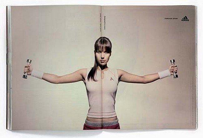 anuncios criativas duas paginas revistas e jornais 10 - 16 Anúncios de duas páginas mega criativos.