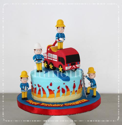 Dumont Cake Fireman Sam Cake