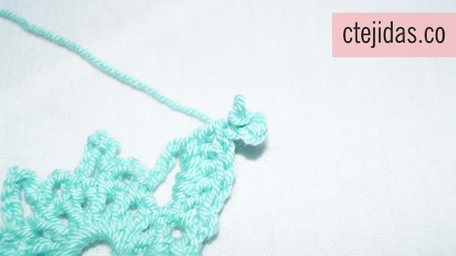 Mariposa a Crochet - Paso a Paso