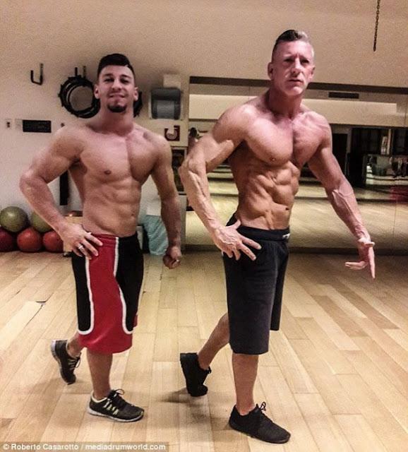 Comenzó a entrenar con su hijo para tener este cuerpo