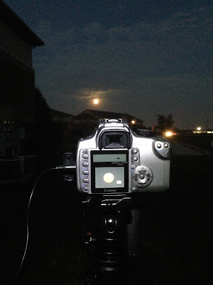 Canon rebel xt night photography